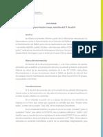 Informe de los Observatorios sobre el Programa de Claudio María Dominguez