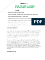 Ch07 Flexible Budget Variance and Management Control