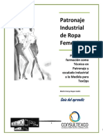 PATRONAJE FEMENINO