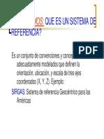 Sistemas de Referencia - II
