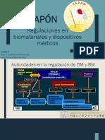 Regulaciones en biomateriales y dispositivos médicos