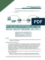 diagnostico de faIIas de enrutamiento con show ip route y show ip protocos
