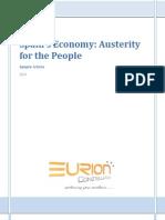 EURION - Spain's Economic Austerity