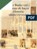 Burke Peter Formas de Hacer Historia