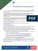 RI-General Business Organization Guidance