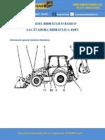 Sistema Hidráulico Retroexcavadora 420f2 Basico