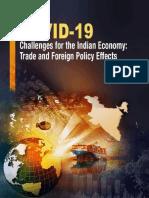 COVID-19 Report 2020 indian  economy