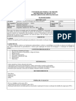 2013B - Métodos e Técnicas I - Plano de Ensino