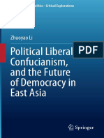 Political Liberalism, Confucianism and the Future of Democracy in East Asia