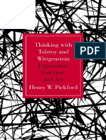 Henry W. Pickford - Thinking with Tolstoy and Wittgenstein_ Expression, Emotion, and Art-Northwestern University Press (2015)