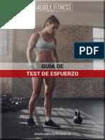 GUIA DE TEST DE ESFUERZO - 2020