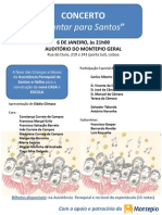 Cantar Para Santos II