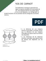 PRINCIPIOS DE CARNOT Y ESCALA DE TEMPERATURA