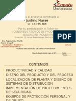 Certificado de I CONGRESO DE PYS