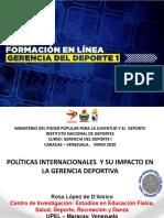 D'Amico MPPJyD - Curso Gerencia Deportiva I 2020