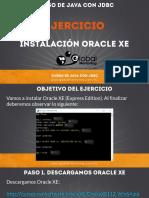 CJDBC-B-Ejercicio-01-Instalacion-Oracle