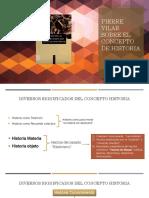 PPT_Pierre Vilar sobre el concepto de historia