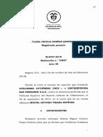 Despido Sin Justa Causa. SL4547-2018