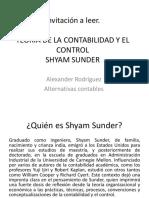 PRESENTACION - TEORÍA DE LA CONTABILIDAD Y EL CONTROL SHYAM SUNDER