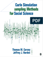 Thomas M. Carsey - Monte Carlo Simulation and Resampling  Methods for Social Science
