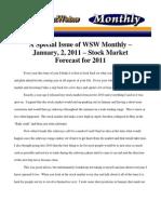 2011 Stock Market Forecast