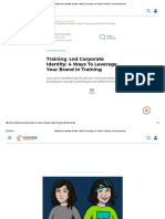 Training Αnd Corporate Identity_ 4 Ways To Leverage Your Brand In Training - eLearning Industry.pdf