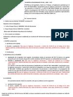 ACTA DE REUNIÓN EXTRAORDINARIA Nº 001