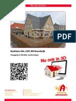 Brochure Beeklaan 264 Te Noordwijk