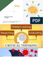May 17-Critical Thinking