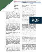 Origen y evolución del Castellano I tercero 11 mayo