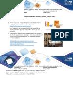Anexo 1 – Información de la empresa modelo para la Fase 2...