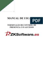 Huella Terminals-userguide Es