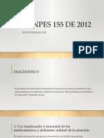 CONPES 155 DE 2012