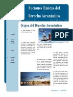 Nociones Basicas del Derecho Aeronautico