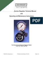 7700 Series Suction Regulator Technical Manual