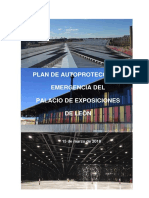 2018 PLAN DE AUTOPROTECCION-EMERGENCIA PALACIO EXPOSICIONES[3075]
