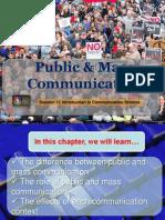 Public & Mass Communication 9