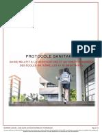 Covid19 Protocole sanitaire pour la réouverture des écoles 67182 0