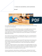 exercitii fizice fitness