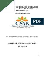 Complier Design lab