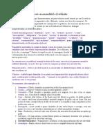 Cuvinte si expresii recomandabil a fi utilizate - Proiect