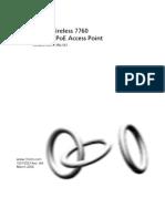 3Com AP7760 User-Guide