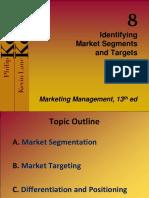 Identifying Market Segments & Targets