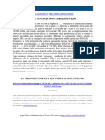 Fisco e Diritto - Corte Di Cassazione n 42160_2010