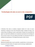 BOUKHILI 2008 Technologies de Mise en Oeuvre Des Composites