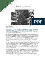 Sobre El Sujeto- Marxismo y/o Psicoanálisis