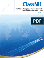 Guidelines for Ships using Low Flashpoint Fuels ( Methyl-Ethyl-Alcohol-Lpg) 2019 - Nippon Kaiji Kuokai