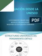 LA EVALUACIÓN DESDE LA UNESCO