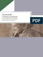 Aristotele - I Dialoghi. Testo Greco a Fronte (2013)