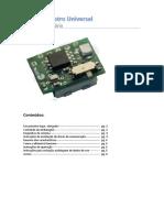 Manual do Usuário - Microaltímetro Universal